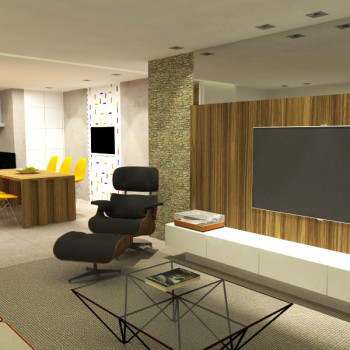 Apartamento CM - Sala de Estar
